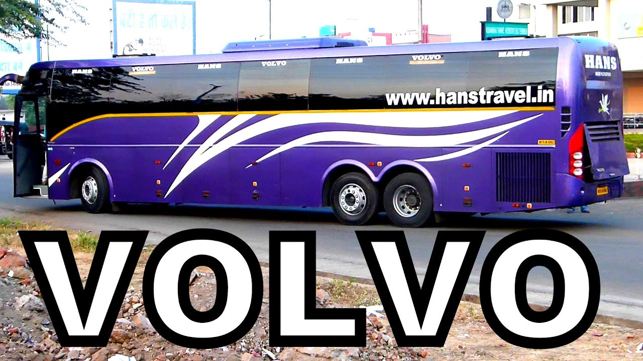 VOLVO B11R and B9R Multi AXLE BUSES FROM BHOPAL INDIA !! - YouTube