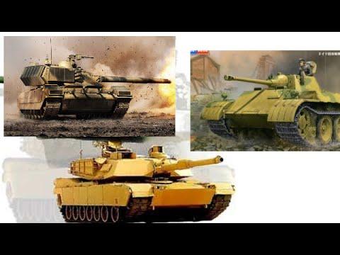 Российская Армата против  американского Абрамса и немецкого Леопарда