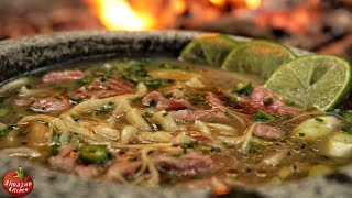 How to Make Ramen in the Forest from Scratch (ASMR)!