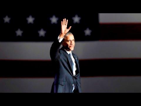 Прощальная речь Обамы. ПОЛНАЯ ВЕРСИЯ НА РУССКОМ