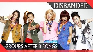 Download Lagu 10 KPOP Groups Who Disbanded After 3 Songs Gratis STAFABAND