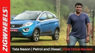 Tata Nexon | Petrol and Diesel | First Drive Review | ZigWheels.com