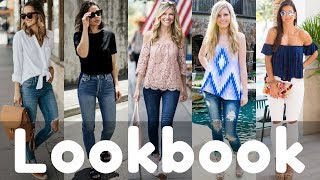 Latest Summer Jeans Outfits Style 2018 Lookbook | Women Fashion