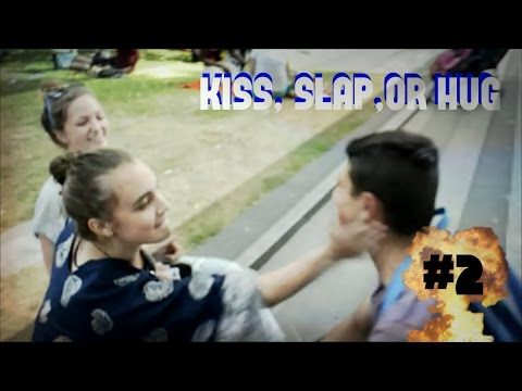 Kiss Hug Slap Kiss Slap or Hug 2