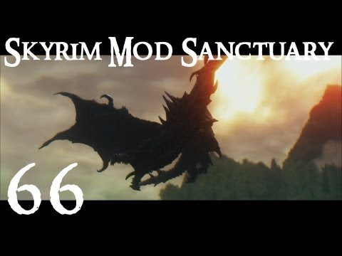 Skyrim Mod Sanctuary 66 : Transparent Glass Armor. Book Covers and Werewolf Aftermath