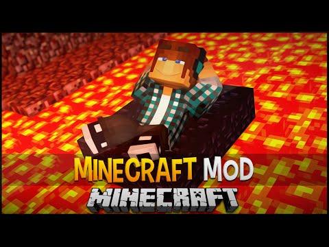 Minecraft Mod: Barco de Obsidian para Andar na Lava Obsidian Boat Mod