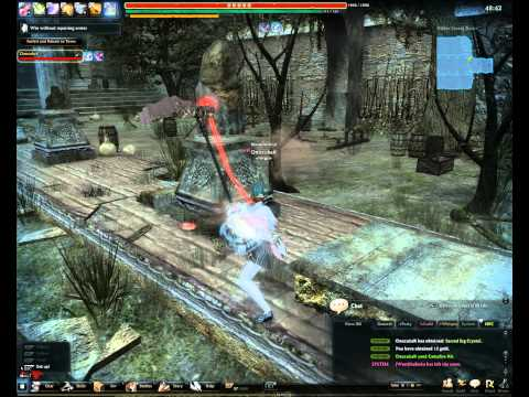 Vindictus Taonu solo (scythe evie, no armor repair, Pre-Karok patch, part 2/3)