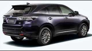 Toyota Harrier SUV First Official