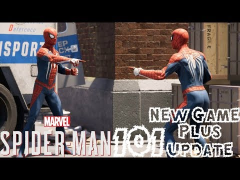 Spider-Man PS4: 101 - New Game Plus Update Breakdown!!! Trophies, Photo Mode Additions, & More!!!