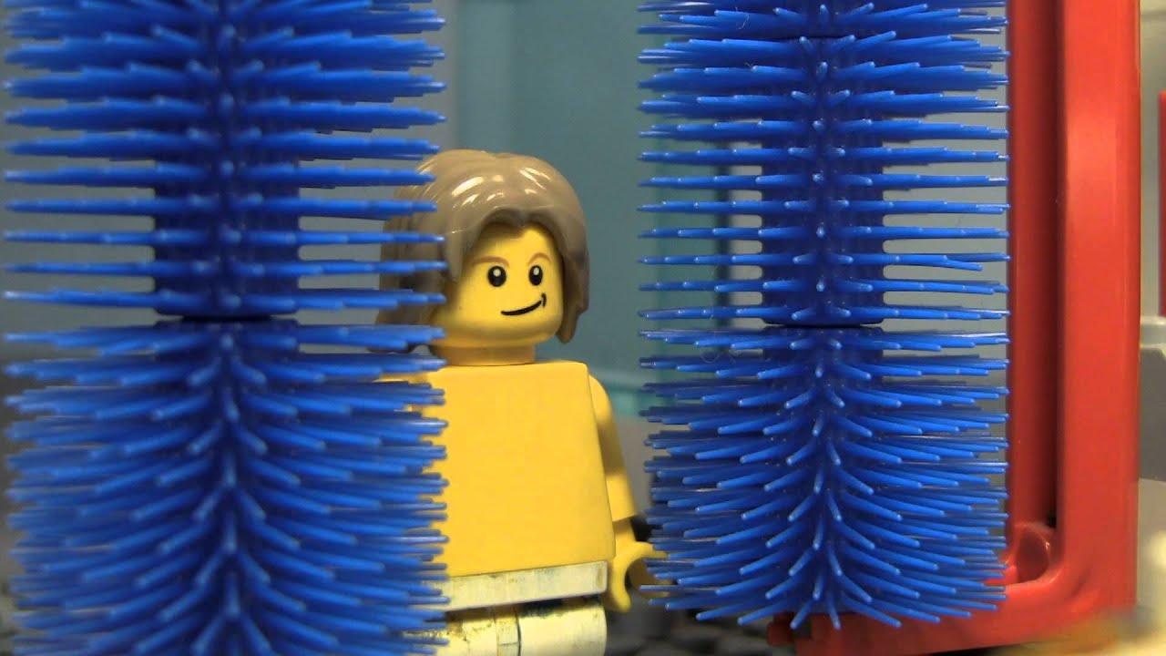 The lego carwash youtube