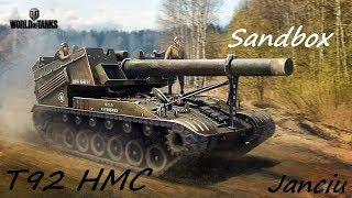 World of Tanks T92 HMC 6k dano game play xbox one