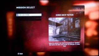 cheat code to unlock zombie maps on black ops