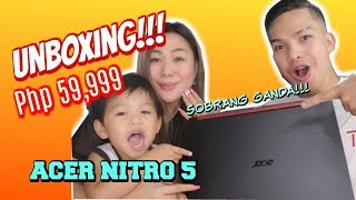 UNBOXING OF OUR NEW LAPTOP | ACER NITRO 5 2019  (GOOD FOR EDITING AND GAMING)