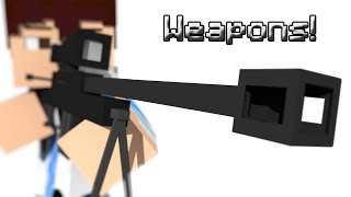 Minecraft: WEAPONS WITH ONE COMMAND! (Vanilla Creation)