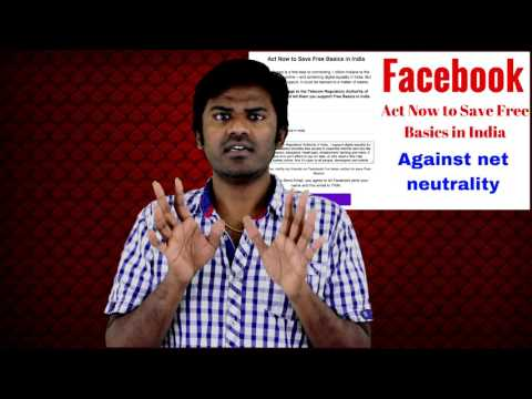 Facebook Save Free Basics In India against net neutrality