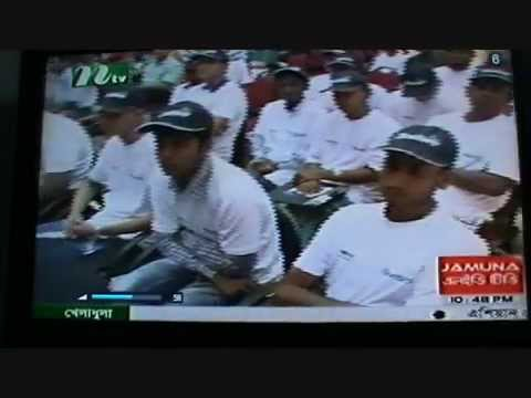 NTV news on Testis Cancer Awakening Programme.