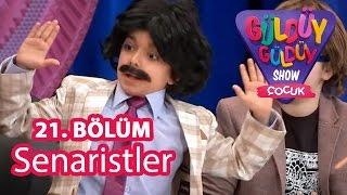 Güldüy Güldüy Show Çocuk 21. Bölüm; Senaristler Skeci