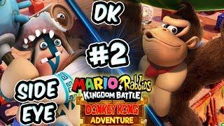 ABM: Mario+Rabbids Kingdom Battle !! Donkey Kong Adventure !! Walkthrough # 2 HD