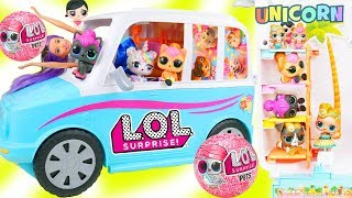 LOL Surprise PETS Series 4! NEW Blind Bag Balls Animal Eye Spy + Punk Boi Family
