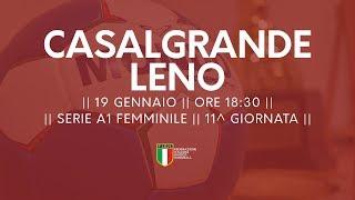 Serie A1F [11^]: Casalgrande - Leno 31-26