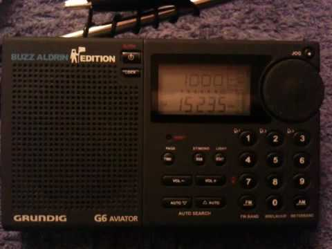 Grundig G6 - All India Radio 15235kHz 10:00UTC