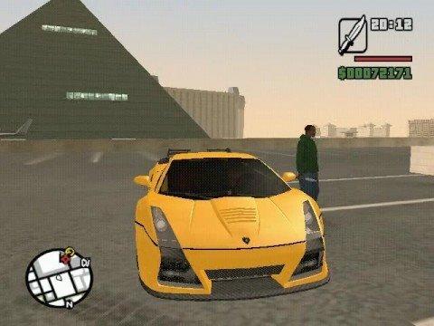 GTA San Andreas: 80 Car garage/car park mod