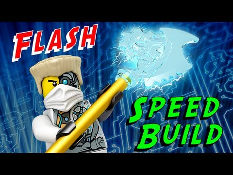 Animated Lego Ninjacopter 70724 Ninjago 2014 Flash Speed Build video