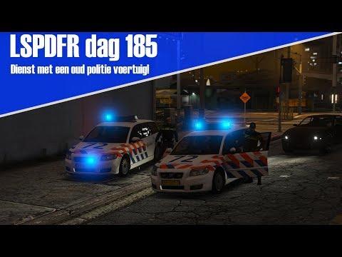 GTA 5 lspdfr dag 185 - Dienst met een oud politie voertuig! [Volvo V50]