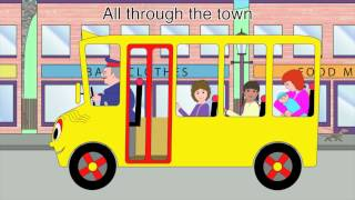 Nursery Rhymes - The Wheels on the Bus (all through the town version)