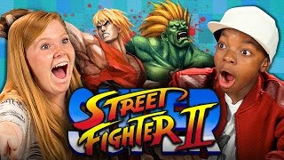 SUPER STREET FIGHTER II (Teens React: Retro Gaming)