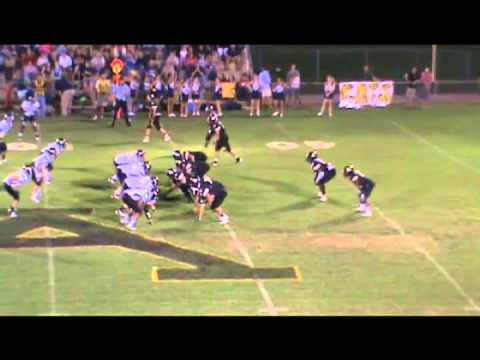 Chris Reese 2012 Autauga Academy Highlight film