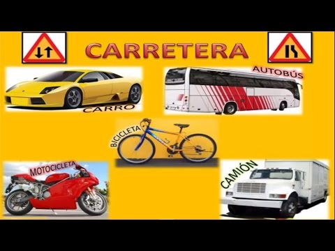Medios De Transporte Para Ni�os. Means Of Transportation For Children(canci�n Infantil) Hd