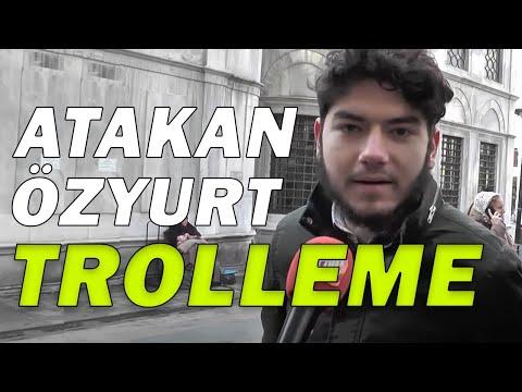 Atakan Özyurt'tan Sokak Röportajı Trollemece (KAFALAR)