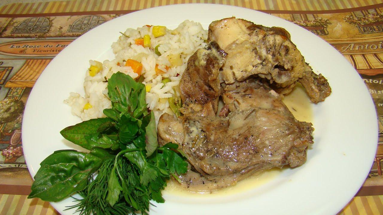 Вторые блюда из кролика рецепты