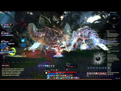 Tera - Dungeon Guide : Ascent Of Saravash lvl 48-53 - Ft. Meoni!