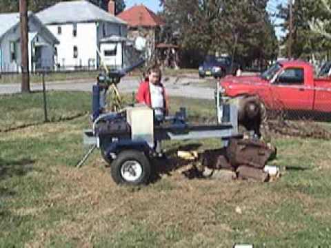 DIY Build Your Own .. Log Splitter .. 24 Ton Log Splitter Plans