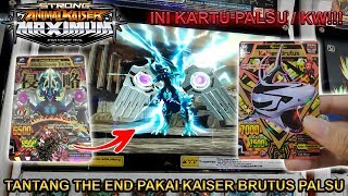 LAWAN THE END PAKAI KAISER BRUTUS PALSU !!! - STRONG ANIMAL KAISER MAX 4 #4