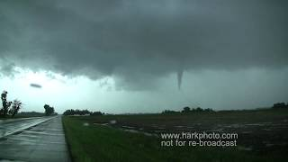 Tornado south of Great Bend, Kansas May 18, 2017 moving southwest