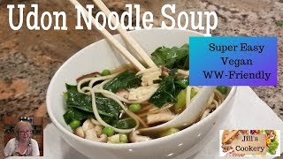 Easy to Make Udon Noodle Soup | Jill's Cookery