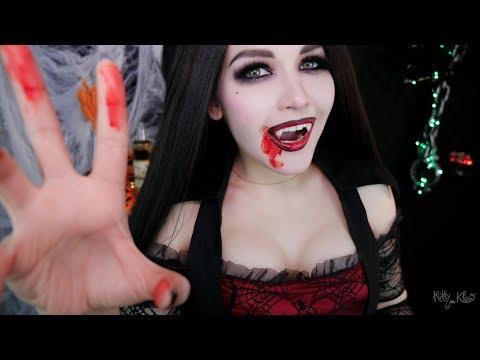 АСМР 🧛 Вампир на вечеринке 💋 ASMR Vampire at the party 👻🦇