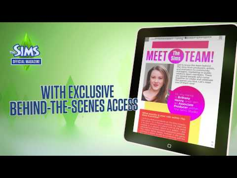 The Sims Official Magazine Trailer
