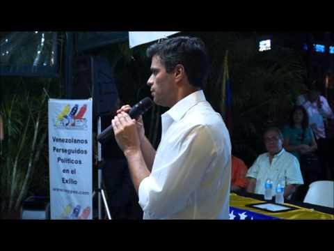 Veppex Asamblea de Ciudadanos con Leopoldo López, 31 de Octubre, En el Arepazo Original