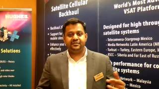 CommunicAsia 2016   Interaction with Shivaji Chatterjee, Sr Vice President Hughes Communications Ind