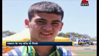 14-year-old Australian runner who ran faster than Usain Bolt