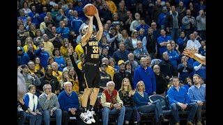Men's Basketball Highlights - #5 Wichita State 72, Tulsa 69