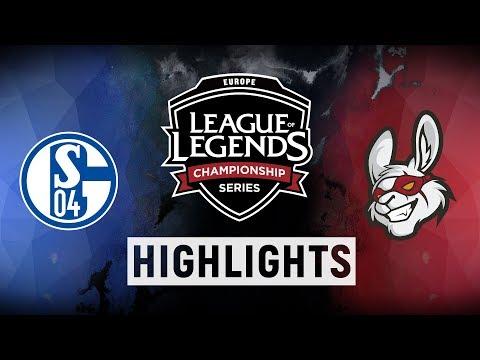 S04 vs. MSF - EU LCS Week 6 Day 1 Match Highlights (Spring 2018)