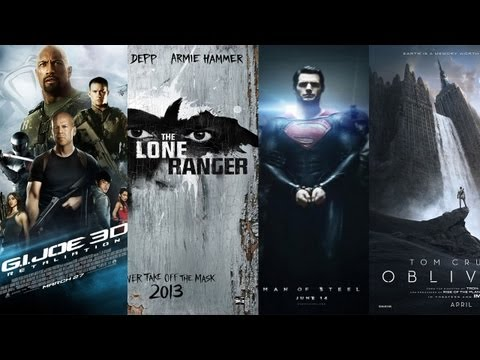 AMC Movie Talk - Trailer Reviews of Man Of Steel. GI Joe. Lone Ranger. Oblivion. After Earth