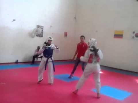 Exitoso desarrollo del intercolegiado supérate de la Liga de Taekwondo del Magdalena.