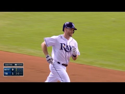 NYY@TB: Forsythe, Butler hit back-to-back homers