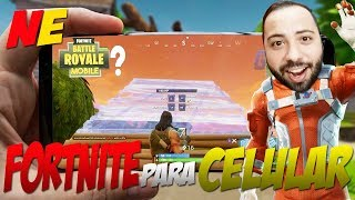 FORTNITE | BATTLE ROYALE PARA CELULAR EM BREVE - NERD EDU